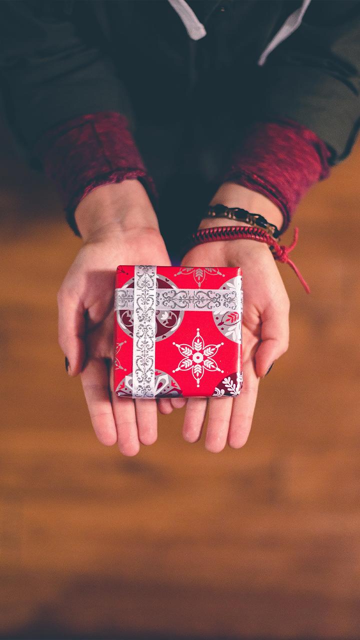 simbolo di natale, il regalo